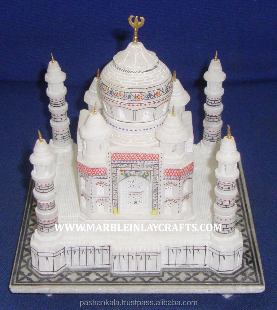 Model Taj Mahal Marmer Putih Mini