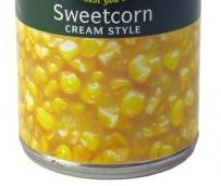 Cream Style Sweet Corn In CANS