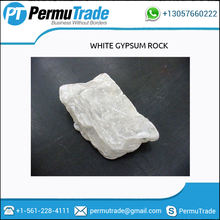 High Purity White Gypsum Rock for Cement