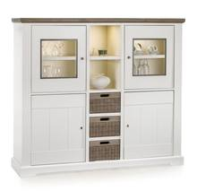 High quality 1600 x 450 x 1400 mm MALLORCA low cabinet