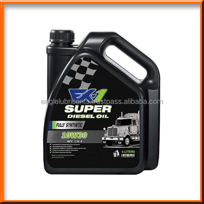 EX-1 Synthetic Diesel Engine Oil, SAE 10w30 CH-4 4L [Automotive Lubricants, Fully Synthetic High, Premium, Top Quality ]