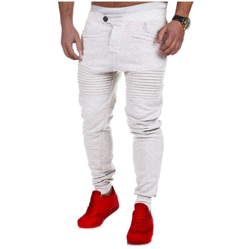 New Mens Slim Fit Tracksuit, Bottoms Skinny Jogging Joggers Sweat Pants Trousers