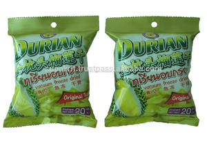 Gel secs Durian Monthong 20 g fruits collation