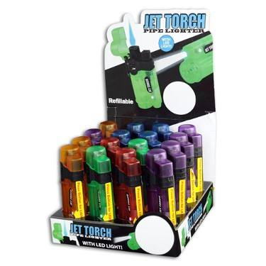 TURBO LIGHTER WITH LED #090142