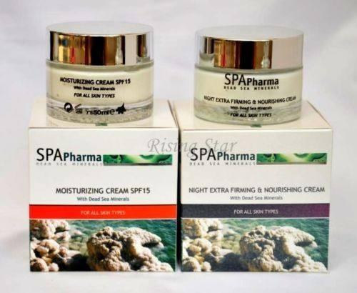 Spa Pharma Dead Sea Minerals Collagen Anti Aging Cream Firming Cosmetics Sealed