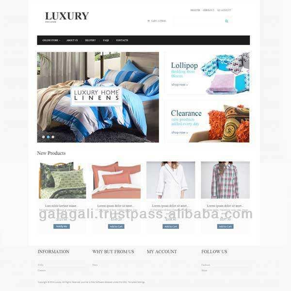 Cosméticos de comercio electrónico como ebay china página web