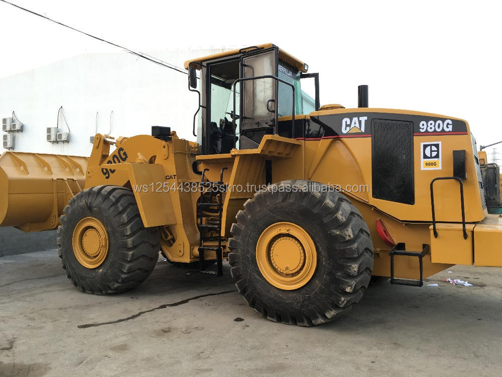 Africa hot need,Used Caterpillar 980G Front Wheel Loaders on sale/heavy CAT loaders in Shanghai