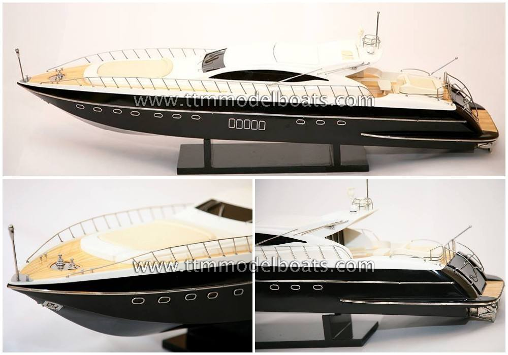 Mangusta 108 en bois moderne <span class=keywords><strong>Yacht</strong></span> - modèle <span class=keywords><strong>bateaux</strong></span>