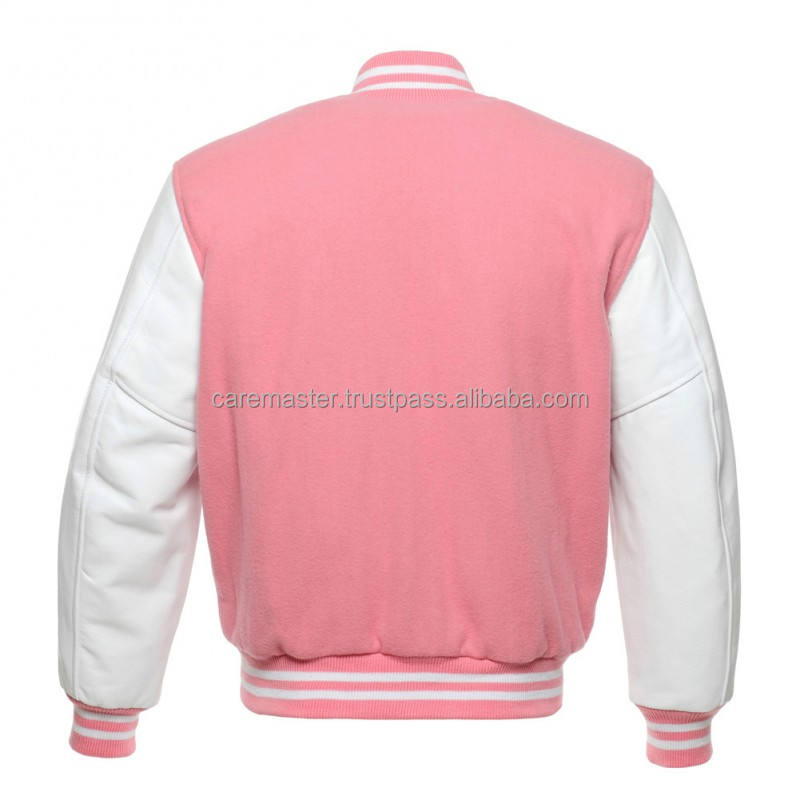 plain varsity jacket wholesale/men varsity jacket/cotton fleece varsity jacket