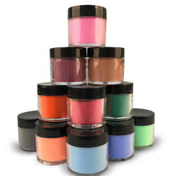 Private Label Color Acrylic Art Powder For Nails - Made In USA