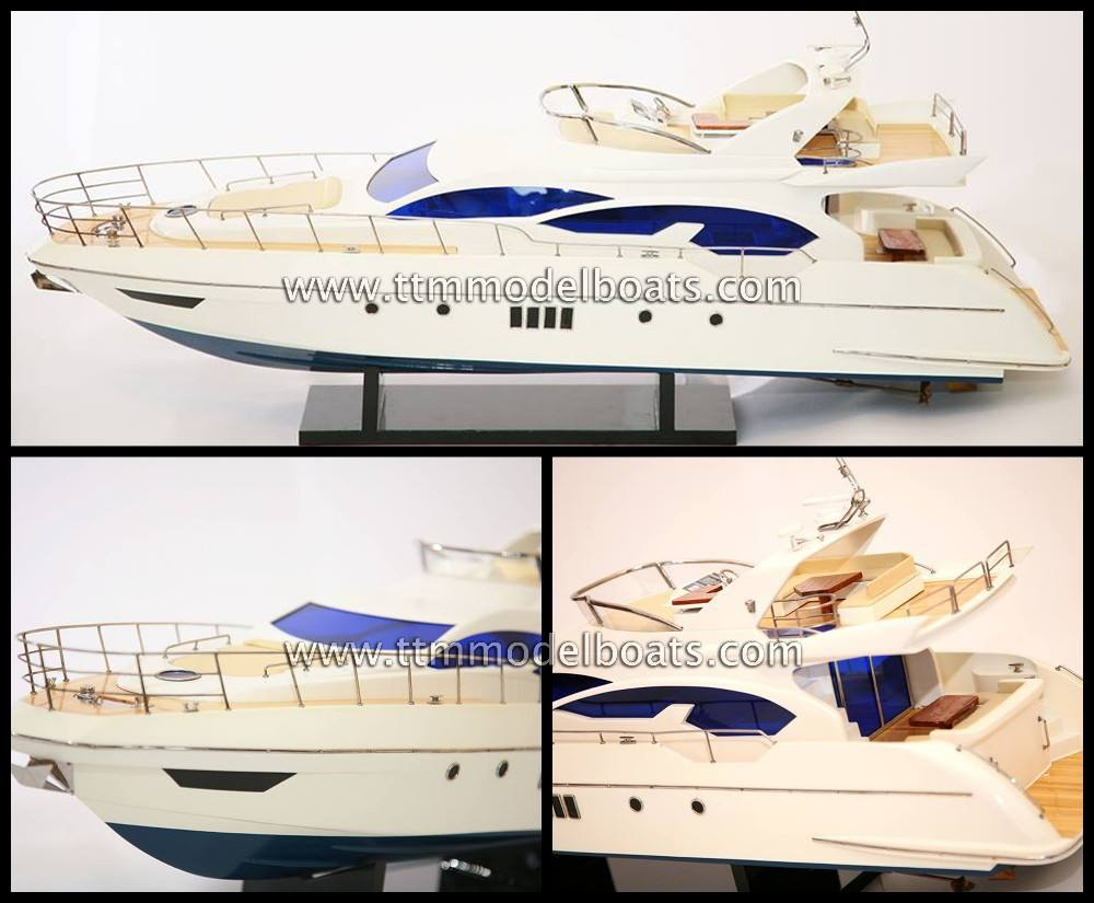 Azimut 70 en bois moderne <span class=keywords><strong>YACHT</strong></span> - modèle <span class=keywords><strong>bateaux</strong></span>
