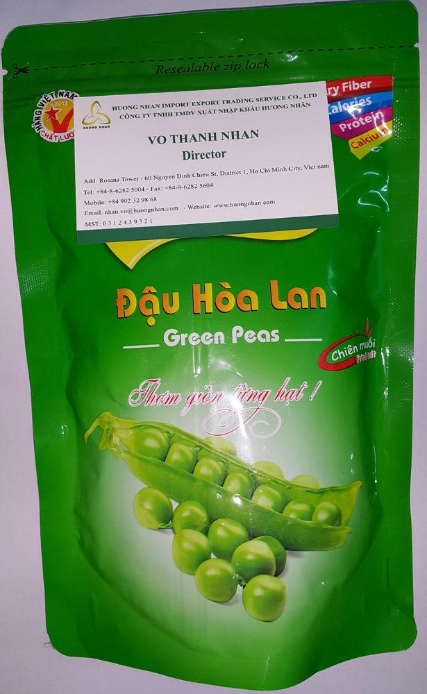 Соленые зеленый горошек - 150гр / мешок
