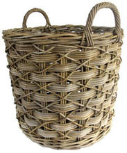 Garden basket, Flower Basket,Flowers pot, Log baskets