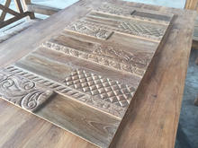 Teak Wall Cladding in Carving