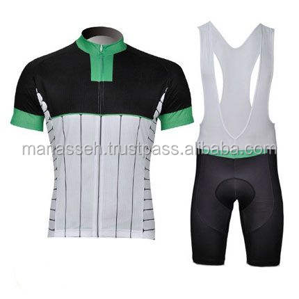 Custom Blank Pink And Black Cycling Jersey
