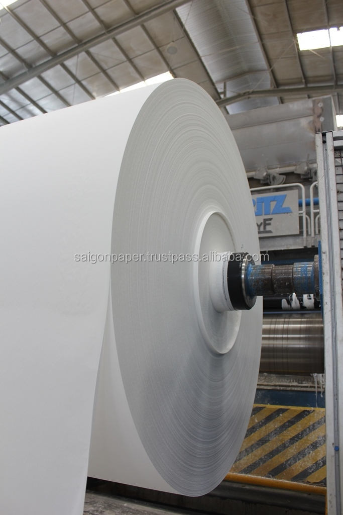 SELLING SOFT TOILET TISSUE BIG JUMBO ROLL FROM RECYCLED PULP - VIETNAM