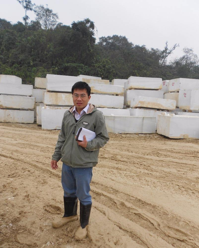 Large Marble Stone Block, Vietnam Rough White Marble Blocks, Marble Stone