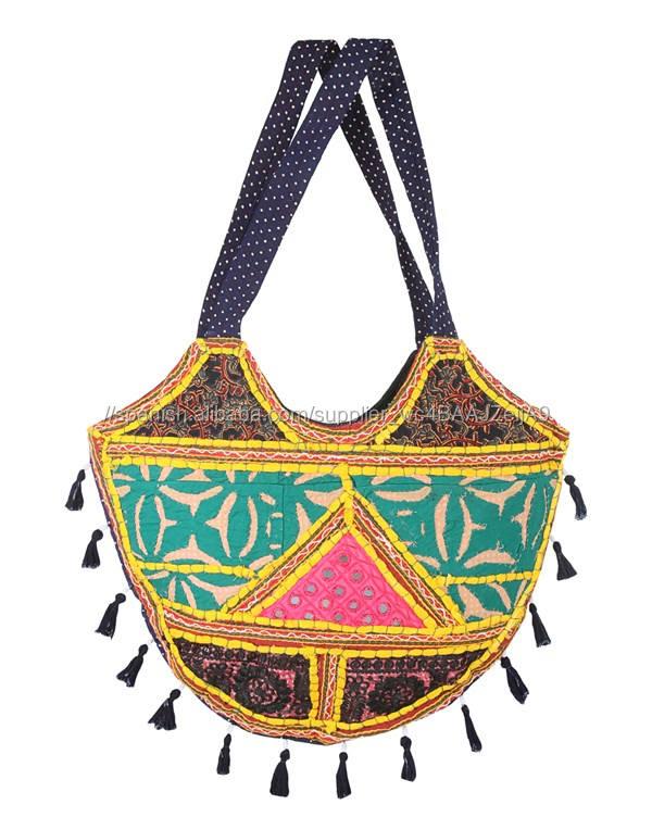 Rajasthani vintage <span class=keywords><strong>banjara</strong></span> bolsa