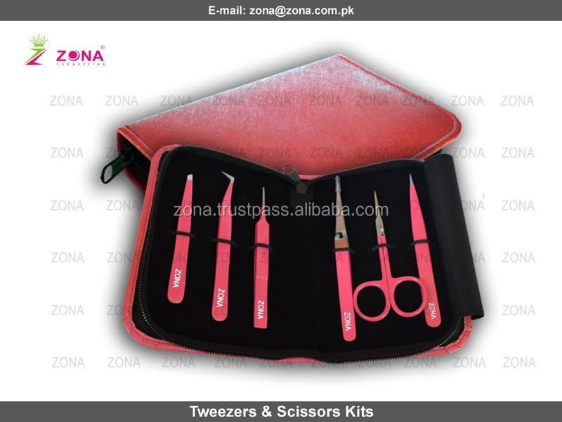 Professional polyvalentes Lash et sourcils Kit sous de client de Logo privée de ZONA - PAKISTAN