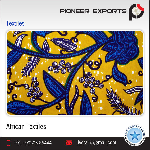 100% Cotton Wax African Printed Textiles