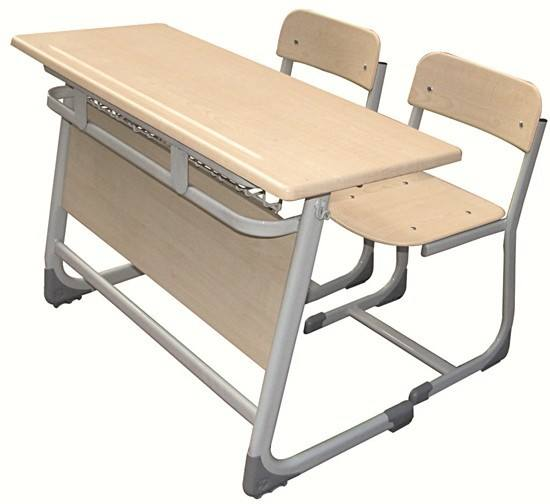 Sude Student Desk Double With Panel