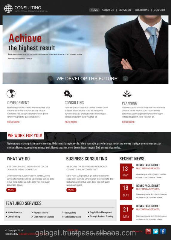 Wordpress Веб-Дизайна и Развития для Консалтинга и Бизнес из Индии в лучшем случае цена