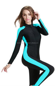 Modest Ladies one piece Muslim swimsuit full length swimming costume