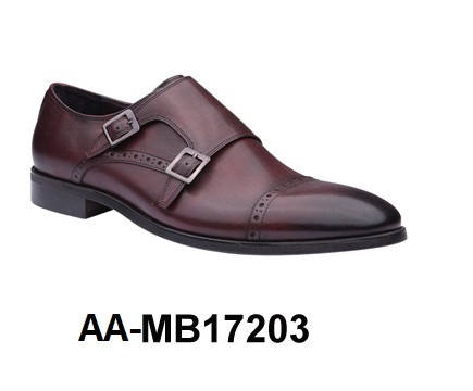 Genuine Leather Men's Dress Shoe - AA-MB17203