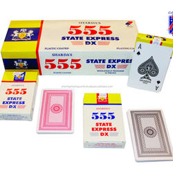 555 State Express Dx Club playing Cards