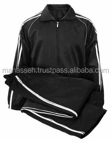 Cheap custom made terno de trilha, Fato de treino de corrida uniforme