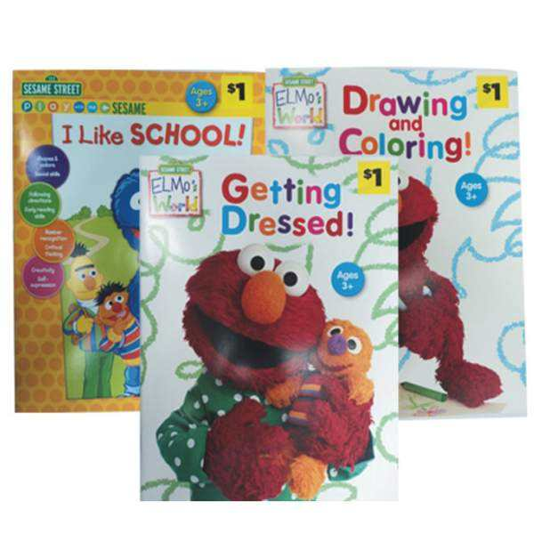 Sesame Street Activity Book