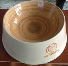 Eco friendly handmade food safe pet bowl