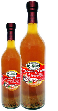 10 liters Packaging - COCONUT NECTAR HOT & SPICY VINEGAR - 100% Natural & Functional Food