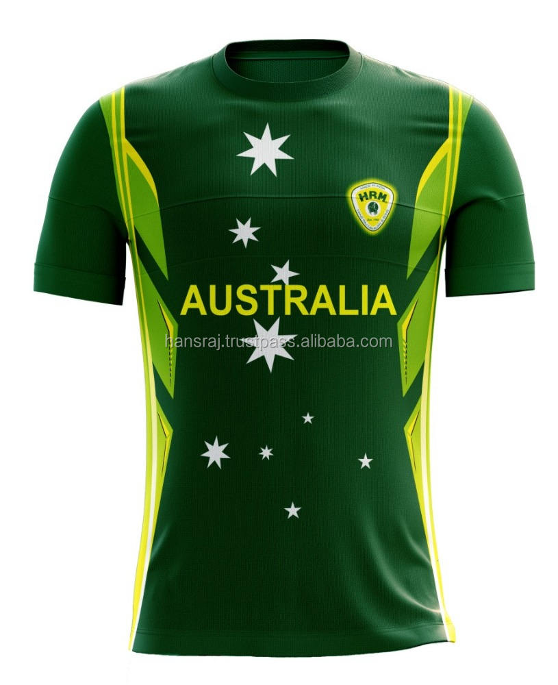 Country Name Cricket Jersey With Poly bag Packing