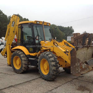 JCB 4CX Backhoe Loader Digunakan Backhoe Dijual Di Shanghai China