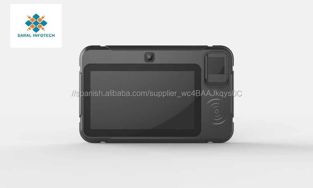 Spain Microatm biometric fingerprint scanner tableta androide pc