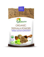 Organic Herbal Supplements / Triphala Powder.