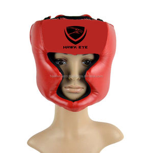 Two in One HEAD GUARD สีแดงโดย Hawk Eye Co.
