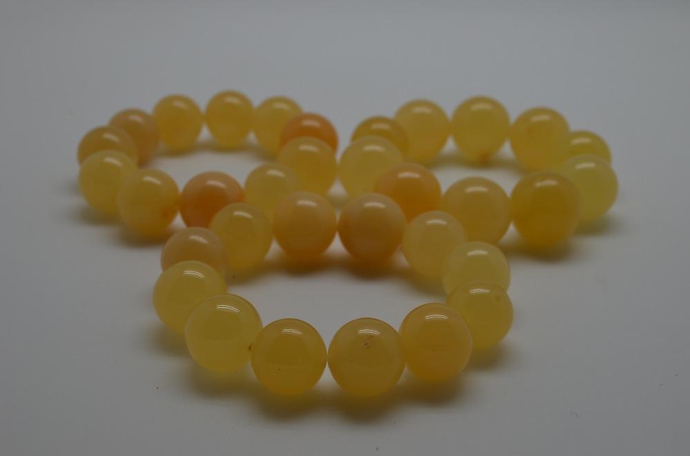 natural amber bracelet ( HEATED )