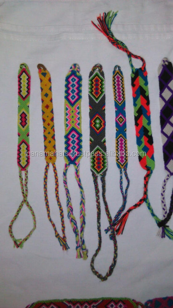Wayuu Bracelets. Handwoven in cotton. Knots work. small size 1.5 cms