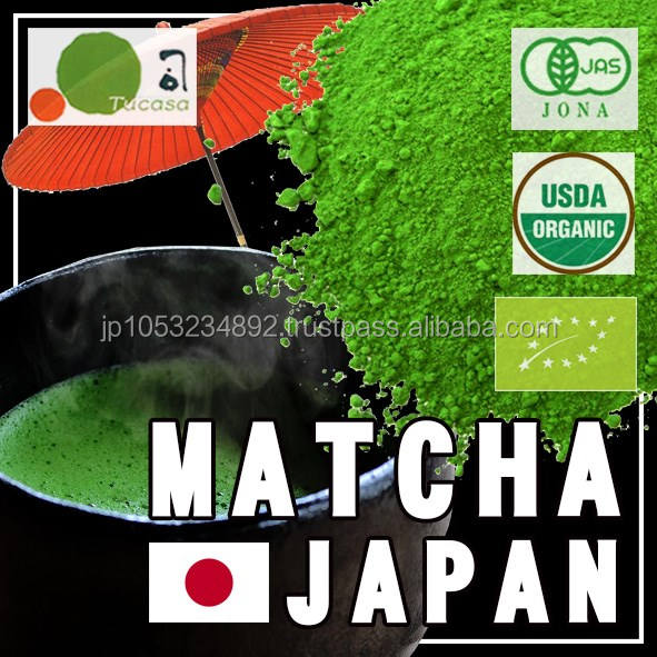 Wholesale Japanese matcha green tea powder 1kg and OEM packaging