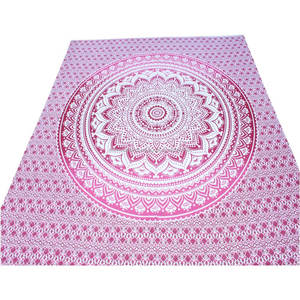 Indian Double Bedsheet 100% Cotton Fancy Bedspread Cover