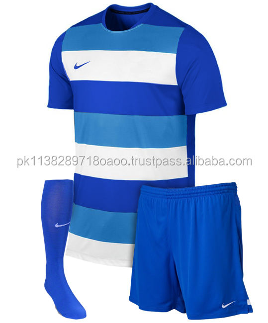 Wholesale custom logo men Soccer uniform