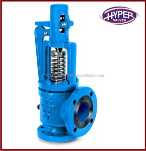 Bonnet Flange End Cast steel Lever Operated Open Safety Relief Valve