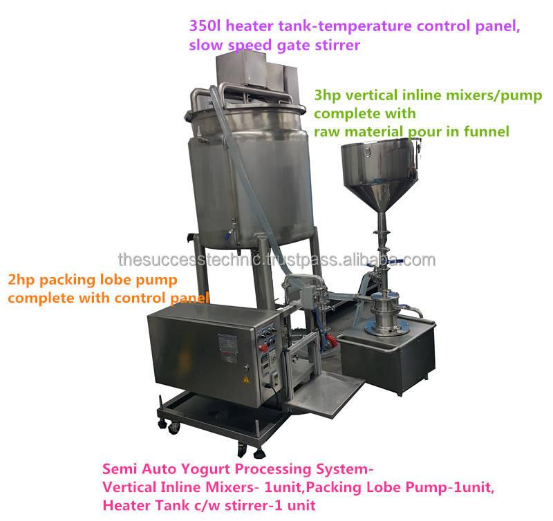 Vt300-03 sữa chua chế biến inline đồng hóa/máy trộn cắt cao/Dyna- tờ- vt300