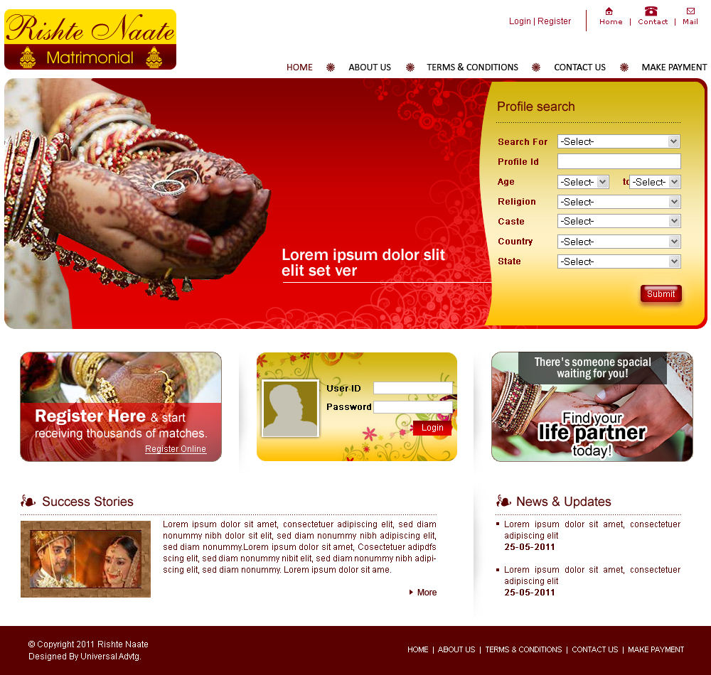 php Scripts | Fully Functioning Matrimonial software - Matrimonial Website Development