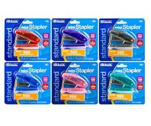 BAZIC Mini Standard (26/6) Stapler w/ 500 Ct. Staples