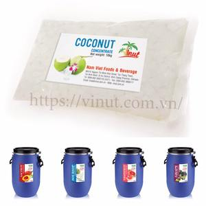 10kg GAC Concentrate, Soursop Concentrate, Coconut Concentrate in Bag by VINUT Beverage Manufacturers Vietnam