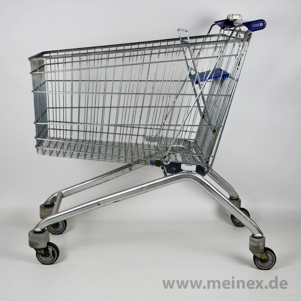 Shopping trolley, Shopping cart Wanzl AS180 with EUR1, used