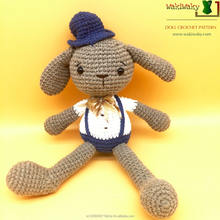 FASHION AND SAFETY CROCHET DOG FOR BABY